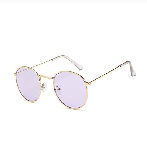 ZZZXX Gafas De Sol Hombres Gafas De Sol Redondas Clásicas Al Aire Libre Para Mujer / Hombre Gafas De Piloto Con Estuche Y Paño De Limpieza, Para Ciclismo Pescar Y Conducir
