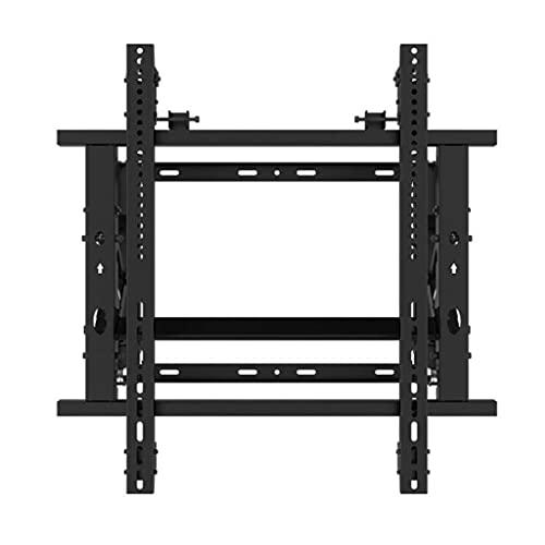 TELEVISOR Soporte de montaje de pared Giratorio e inclinación for la pantalla plana y curva de 42-70 pulgadas TELEVISOR Stand Ultra Strong Dual Arms Motion TELEVISOR Soporte ( Color : Black )