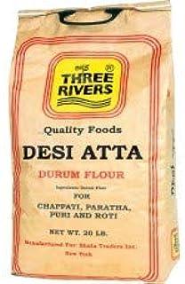 Three Rivers Desi Atta Durum Flour 20lb