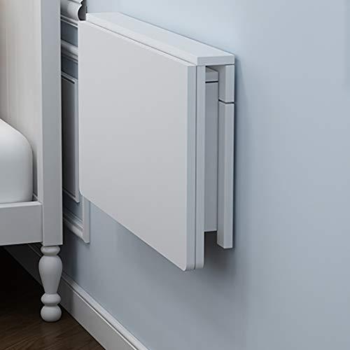 Wandklapptisch Klapptisch aus Kiefernholz Wand-Klapptisch,abgerundete Ecken und Wandtisc Esstisch Schreibtisch Mehrzwecktisch Frühstückstisch abgerundete Ecken Computertisch