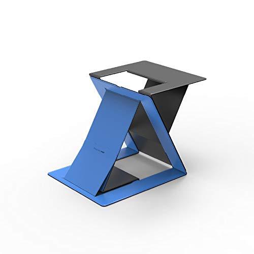 MOFT Z【ブランド ストア】ノートパソコンスタンド ノートPCスタンド PCデスクワークに対応 お手軽にスタンディングワークを実現 テレワークや在宅勤務に最適 折りたたみ 収納時の薄さ1.5cm 耐重10kg 軽量890g 多角度調節 簡単に切替可能 17インチまで対応
