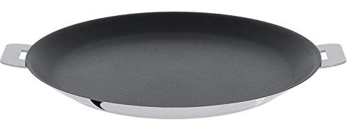 Cristel-CR26QE-Crêpière inox 26cm - anti-adhérent Exceliss + - Collection Mutine