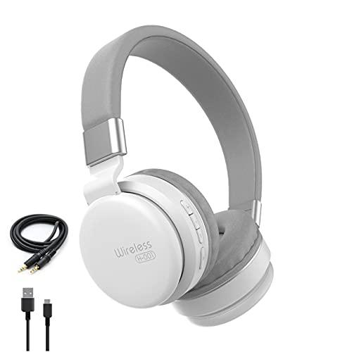 Auriculares inalámbricos Sonido HiFi Graves Profundos Estéreo Reducción de Ruido Juegos Compatible con Bluetooth 5.0 Auriculares compatibles Ranura para Tarjeta SD