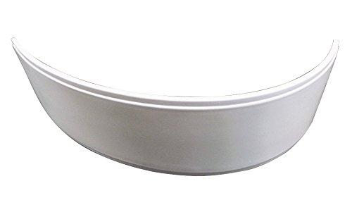 'aquaSu® Schürze zur Acryl-Eckbadewanne Plan 170 x 100 cm   Linke Ausführung   Rechte Ausführung   Weiß   Bad   Badezimmer