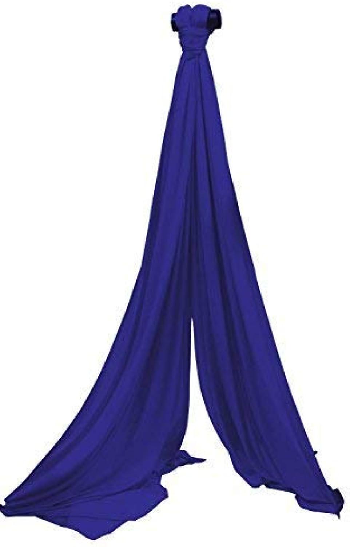 SchenkSpass Grünikaltuch 9m (Meter) für 4-5m Deckenhhe (tissus, Aerial Fabric) (royal blau)