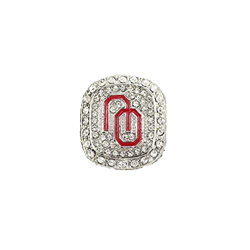 CLCL Anillo de Hombres 2015 Oklahoma State University Shortcut Champion Ring Replica Championship Ring Fans Collection Gift, Without Box, 11#