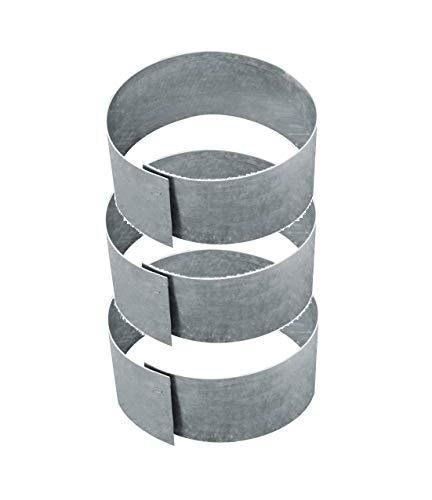 3-er Set Rasenkante Kreis Ø 40 cm H. 13 cm 10099