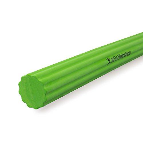 AFH-Webshop Flexibler Übungsstab | Profi-Line | Training von Griffstärke und Unteram (Flexoren) (Stärke: mittel | Farbe: grün)