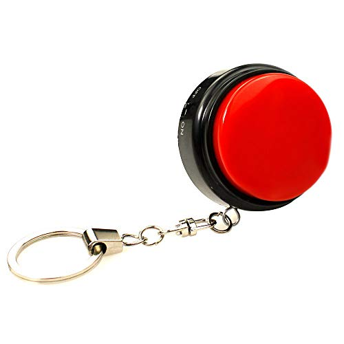 Cover M7 Mini Size Sound Button Record Talking Button with Keychain with on-Off Best Gifts for Kids, Friends - Easy to Carry