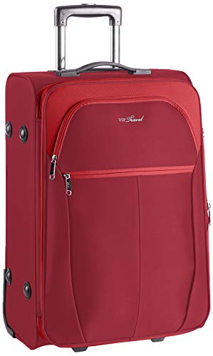 WITTCHEN Unisex-Erwachsene VIP COLLECTION koffer Luggage- Suitcase, Burgund, L (73x48x37cm)