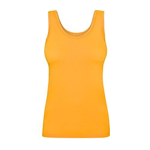 Assoluta Damen Tank Top, Größe M, neon orange