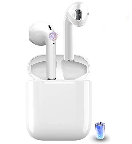 Auriculares Bluetooth 5.0, Auriculares inalámbricos IPX7, Impermeables, cancelación de Ruido, con 35 Horas de Carga y micrófono para Android/Airpods Pro/Samsung/Apple AirPods Pro
