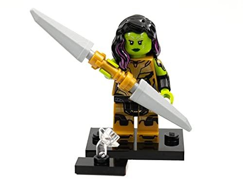 LEGO Marvel Series 1 Gamora con la hoja de Thanos Minifigure 71031 (Embolsado)