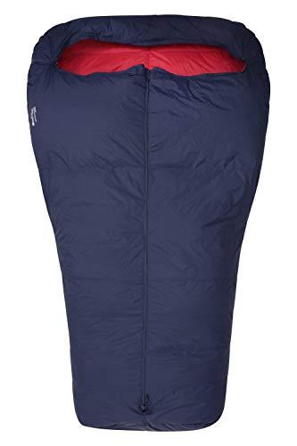 Mountain Warehouse Lightweight Down Double Sleeping Bag Azul Marino Talla única