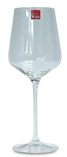 RONA Juego de 6 copas de vino tinto 650 ml Charisma de cristal