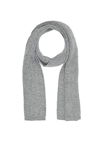 s.Oliver RED LABEL Damen Schal mit Strukturmuster grey knit 1