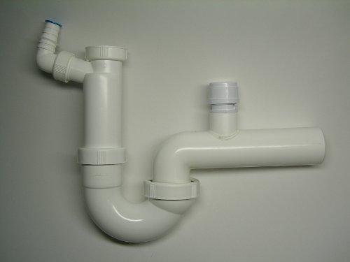 Dallmer Kunststoff Röhren-Sifon 100/1 mit Rohrbelüfter