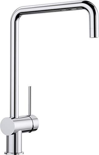 BLANCO 512322 512 322 FINESS, Küchenarmatur-Einhebelmischer, Oberfläche chrom, Hochdruck, 1 Stück