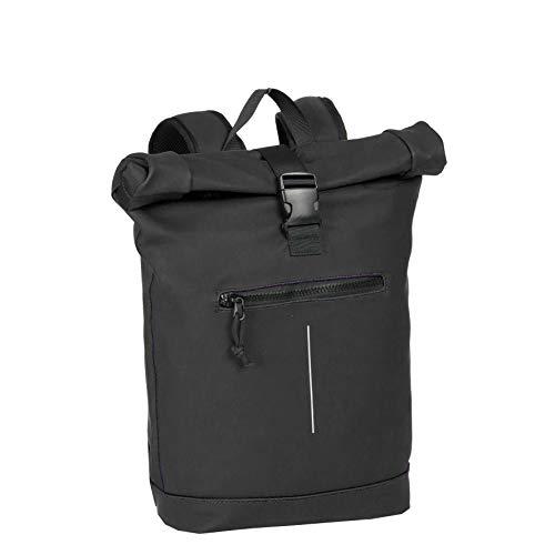New Rebels Mart Roll-Top Backpack Black Large II | Rucksack