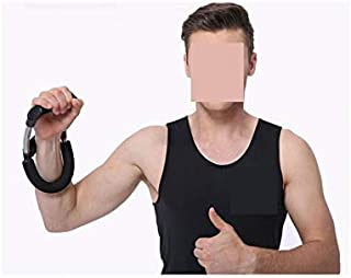 Perfk U Shape Men Adjustable Wrist Exerciser Forearm Strength Force Trainer Finger Roller Athletes Indoor Home Office Fitness