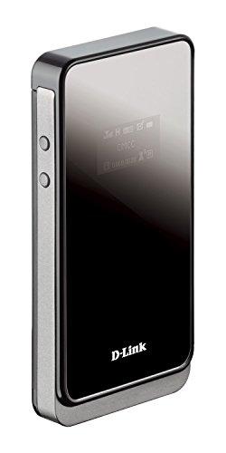 D-Link DWR-730 - Router móvil 3G para SIM de Datos (HSPA+, MiFi 3G, WiFi N hasta 150 MBps, WPS, batería 2000 mAh, WPA2, LCD) Negro y Blanco