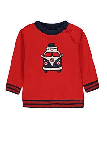 Kanz Sweatshirt Jungen Flame Scarlet,68