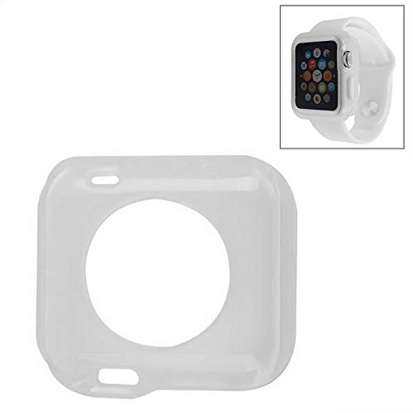冒険家切手ミュウミュウユニバーサルウォッチバンド Apple Watch 用38ミリメートルTPU保護ケース (色 : Transparent)