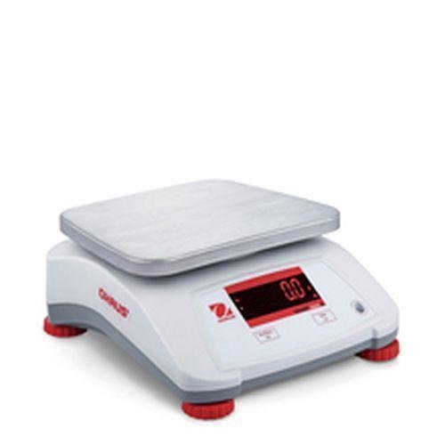 Controle weegschaal Ohaus Valor V22XWE1501T tot 1,5 kg - 0,2 g precies roestvrij stalen behuizing