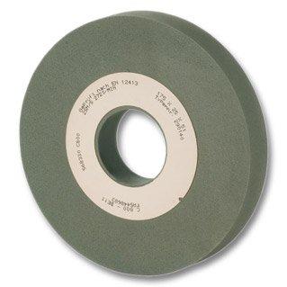 Tyrolit 7204 Muela Asentadora para Herramienta de Corte, 1 Forma, Medio Grado de Dureza, C 800 - BE11 Especificación, 25 Vmáx m/s, 125mm x 25mm x 32mm