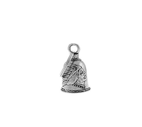 Guardian Bell - Llavero con amuleto de campana con diseño indio apache