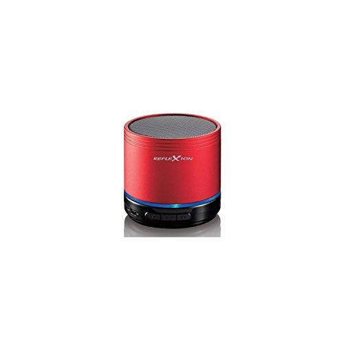 Reflexion BTX1 tragbarer Bluetooth Lautsprecher mit MicroSD/AUX-IN/integriertem Akku schwarz