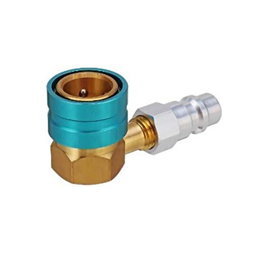 ningxiao586 Adapter für Auto-A/C-Steckverbinder Auto-Klimaanlage R1234YF / R12 auf R134A Aluminium-Adapter für Schnellwechsler-Steckverbinder