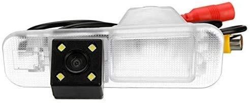 ZW18U PC 1 Perfectamente visión Nocturna 4 LED Coloración CCD Car Tush Ver cámara Cámara de Respaldo Estacionamiento Retrovisor para Kia Rio Mechanic Piezas de Repuesto