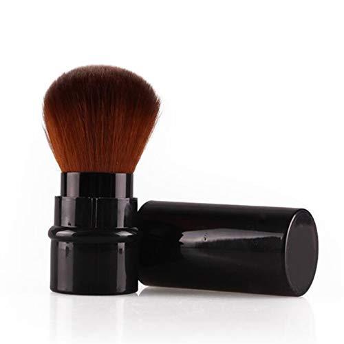Garispace Cepillo de maquillaje retráctil con estilo, portátil, para viaje, para maquillaje, polvos, colorete,...