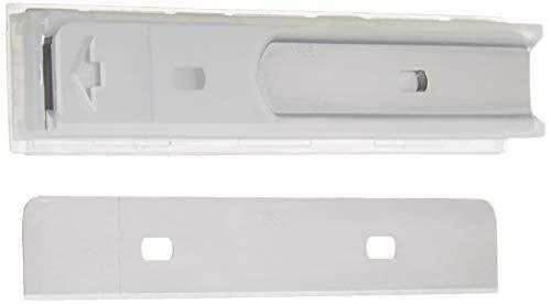Amazon Basics - Cuchillas de repuesto para pelar y raspar de 10.16 cm (4 pulgadas), dispensador de 10