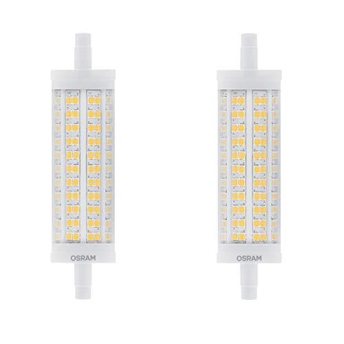 OSRAM LED STAR LINE R7s Stablampe 17,5W=150W 2452 lm warm 2700K 118mm nondim 2er
