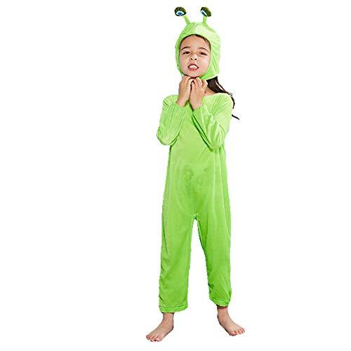 LJLis Kinder Tierkostüme Mädchen Kostüm Kostüm Cosplay Kinder Schneckenkostüm,XS