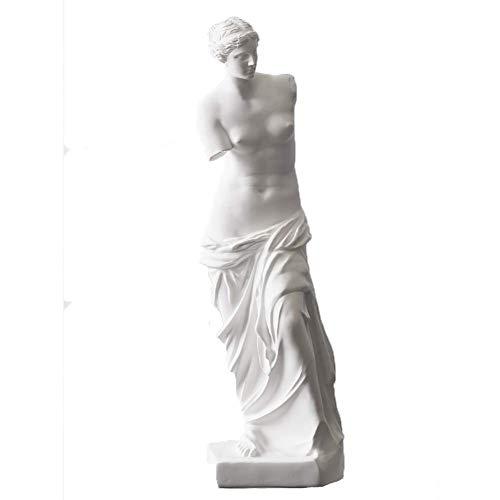 Ornamente Statue, griechische römische Skulptur Mythologie Göttin Aphrodite Figur ideal für Home Office Dekorationen-groß 48x13x13cm (19x5x5inch)