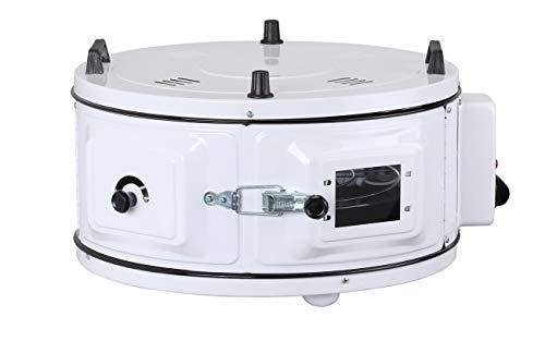 Itimat - Horno Rundofen (tamaño estándar, con termostato, redondo), color blanco