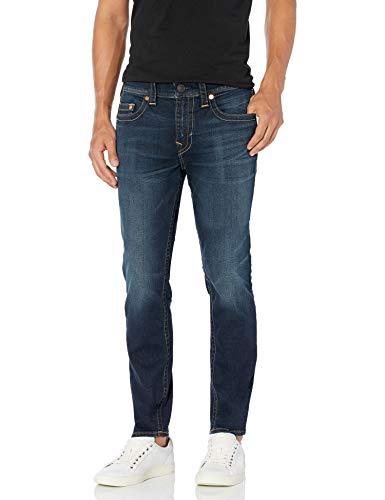 True Religion Men's Rocco Skinny Fit Jean, Dark Fusion, 32W X 32L