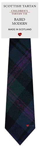 I Luv Ltd Garçon Tout Cravate en Laine Tissé et Fabriqué en Ecosse à Baird Modern Tartan