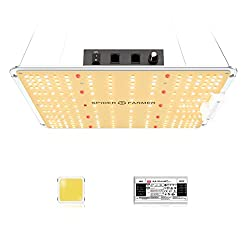 cheap Dimmable LED plant light SF-1000 SPIDER FARMER, compatible with Samsung LM301B diodes, …