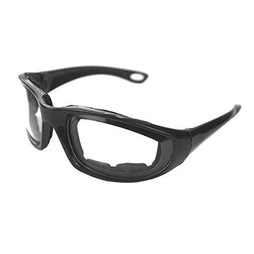 Fengshunte Tear Free - Gafas antivaho con esponja interior para picar cebollas, a prueba de polvo