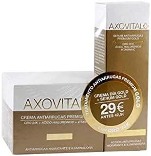 PACK AXOVITAL ANTIARRUGAS PREMIUM GOLD F15 CREMA 50ml+ SERUM 30ml: Amazon.es: Belleza