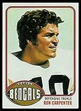 1976 Topps Regular (Football) card#432 Ron Carpenter of the Cincinnati Bengals Grade very good/excellent