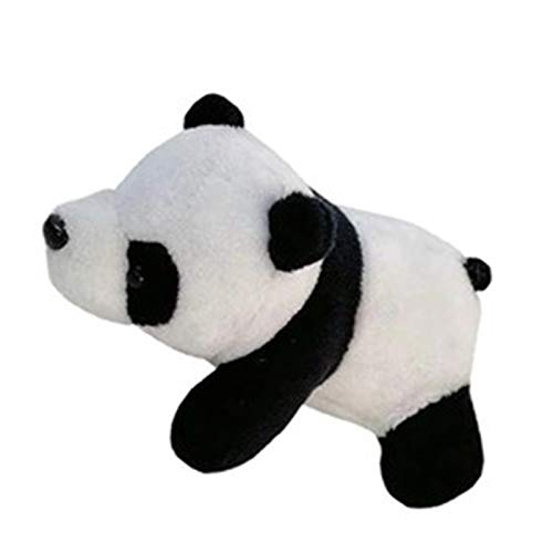 YAOHONG Panda Broken Plush Stereo Cute Doll Cartoon Pickup Clothes Bag Accessories