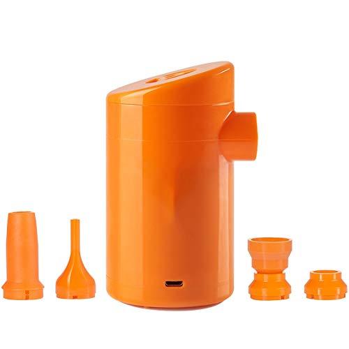NXYJD Mini Bomba Inflable eléctrica ABS Bomba Inflable Multifuncional para colchón Inflable Almohada Herramienta portátil