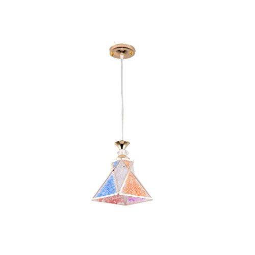 WLH – regenboog-restaurant kroonluchter eenvoudig en modern eetkamertafel enkele kop licht slaapkamer lamp gang woonkamer BarE27