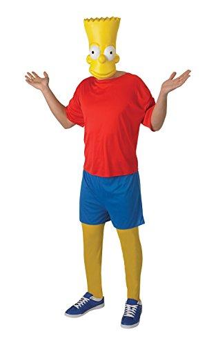 Rubies - The Simpsons disfraz de Bart clásico para adulto (880660-STD)