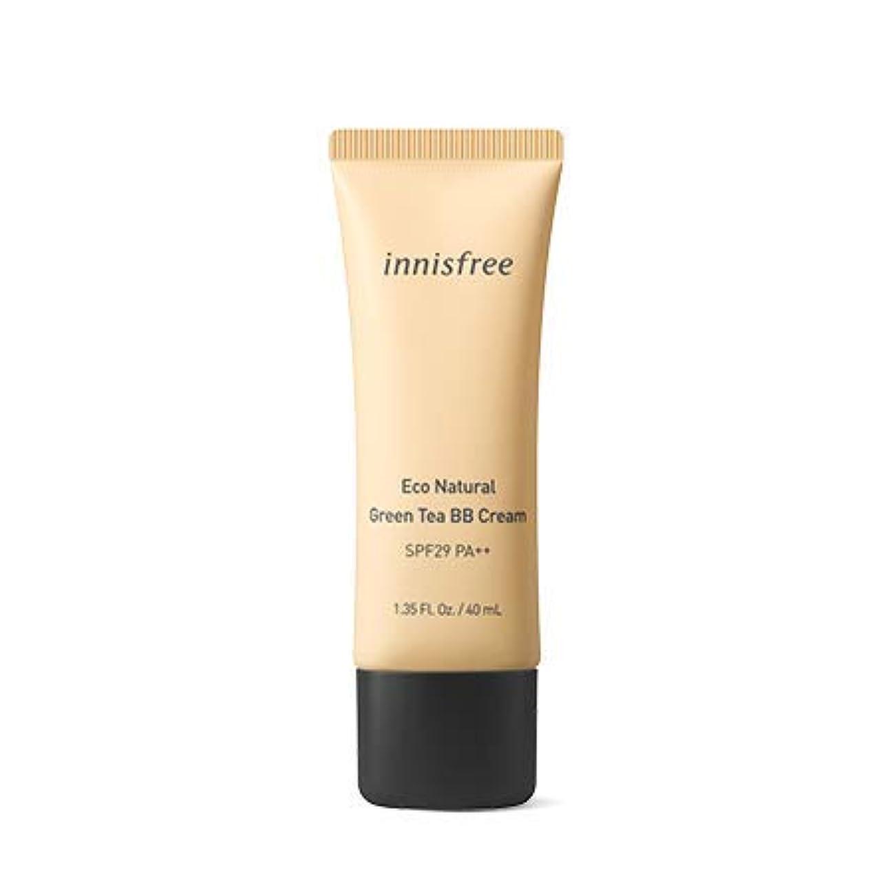 拡声器熟した永久[イニスフリー.INNISFREE](公式)エコナチュラルグリーンティーBBクリームSPF29/ PA++40mL(「2019新製品)/ ECO NATURAL GREEN TEA BB CREAM (#1 華やかなしっとり肌/Brilliant moist skin)